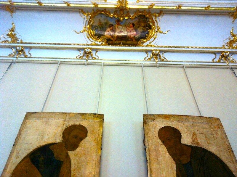 Анфилада иконописи