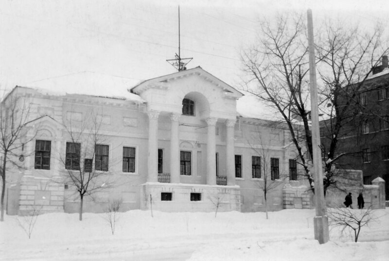 """Дом Селиванова, """"Белгородэнерго"""", 1967 г., фото из коллекции А.Крупенкова"""