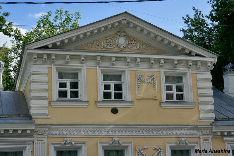 Дом-музей Герцена в Москве. Мезонин