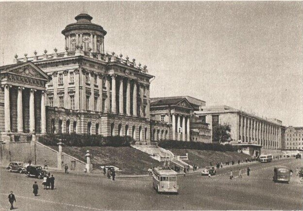 Библиотека им. Ленина 1951