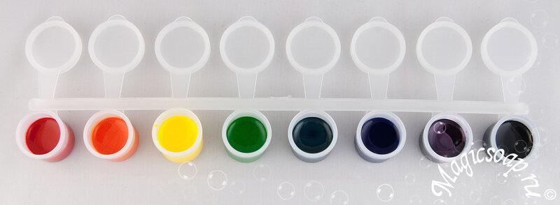 Пигментные красители (не мигрируют в основе, в мыле с нуля не теряют цвет!) - долгожданное поступление в магазин Magicsoap.ru