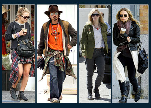 Mary-Kate Olsen; Johnny Depp; Drew Barrymore; Mary-Kate Olsen