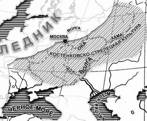 Карта оледенения