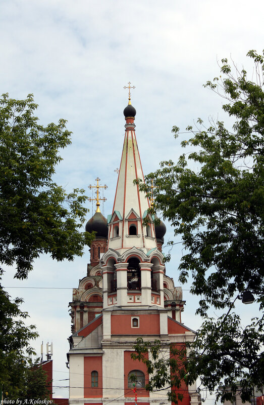 Храм святителя Николая Чудотворца на Болвановке