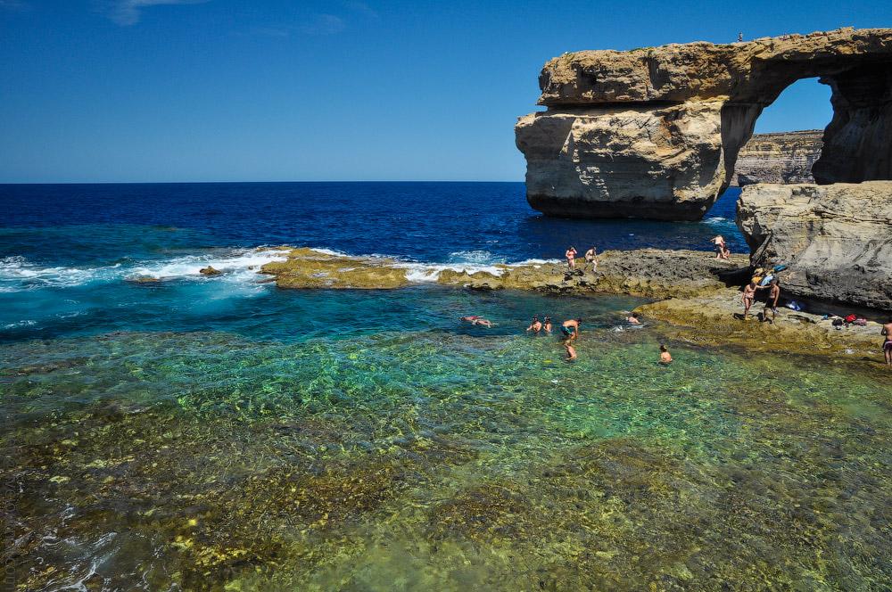 Главный природный аттракцион острова Гозо, который исчезнет через пару лет.