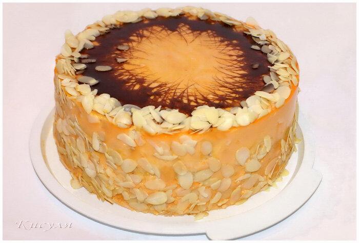 песочный торт апельсин фото рецепт приготовление