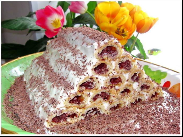 торт монастырская изба фото рецепт