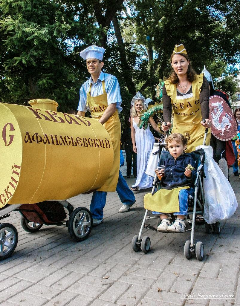 Парад колясок 2012 в Севастополе