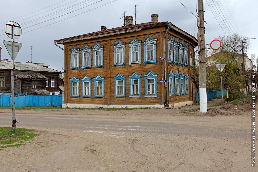 деревянный дом в Козьмодемьянске