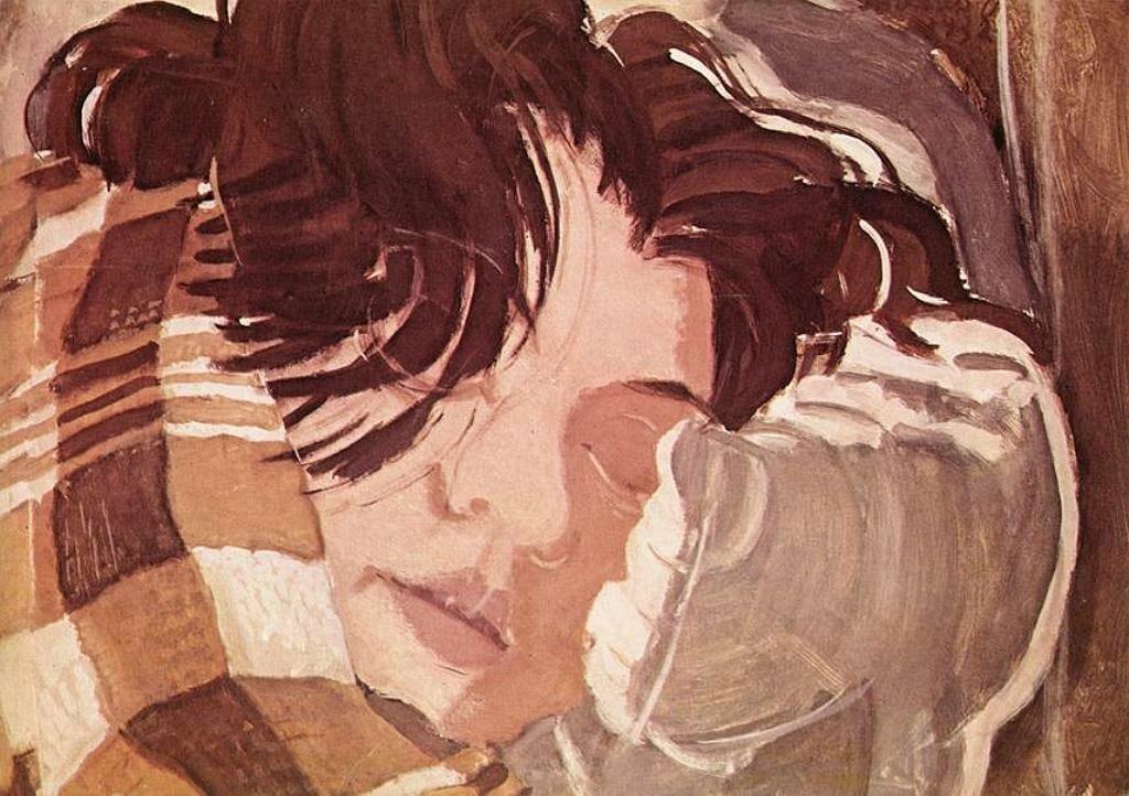Sleeping Woman, 1932_Gyula Derkovits(1894-1934)