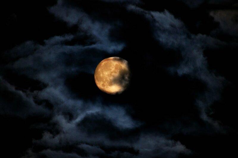 Всевидящее око Луны