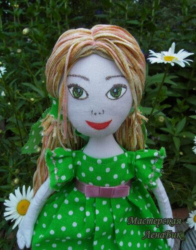 Куклы ручной работы, игровые куклы