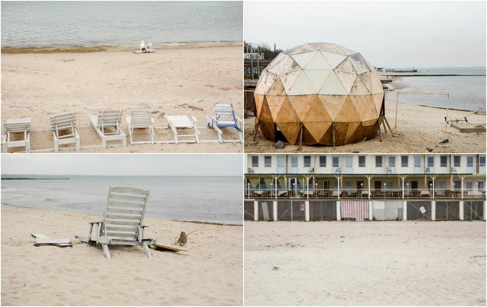 Одесские пляжи в несезон