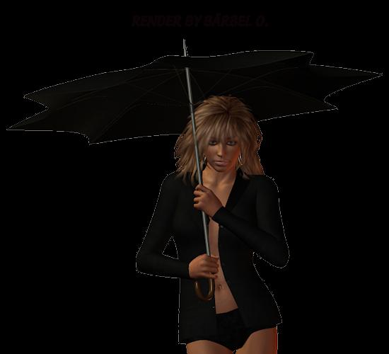девушка с зонтиком схема вышивки
