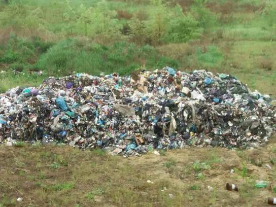 Очередная свалка львовского мусора выявлена на Киевщине, - Нацполиция. ФОТО