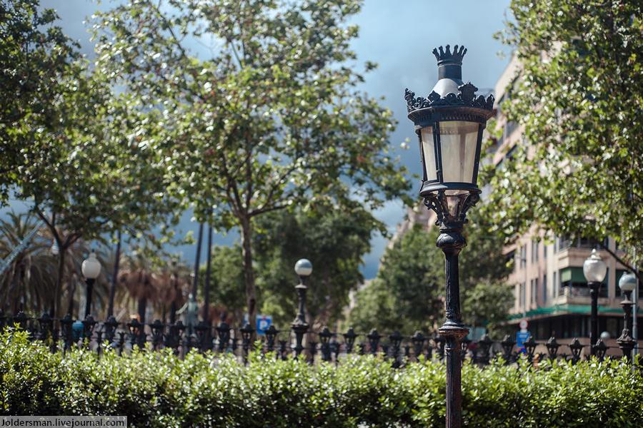 Погода в Барселоне в мае перед грозой