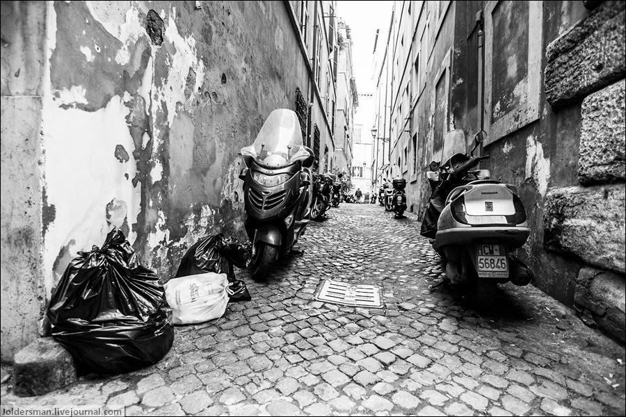 мусор в Риме