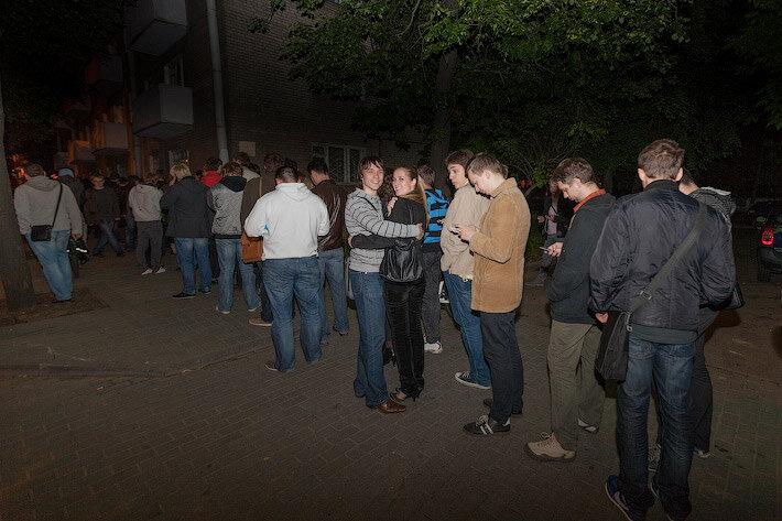 В Минске огромные очереди