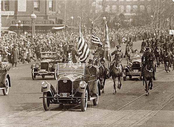 История США  1900 - 1930 годах