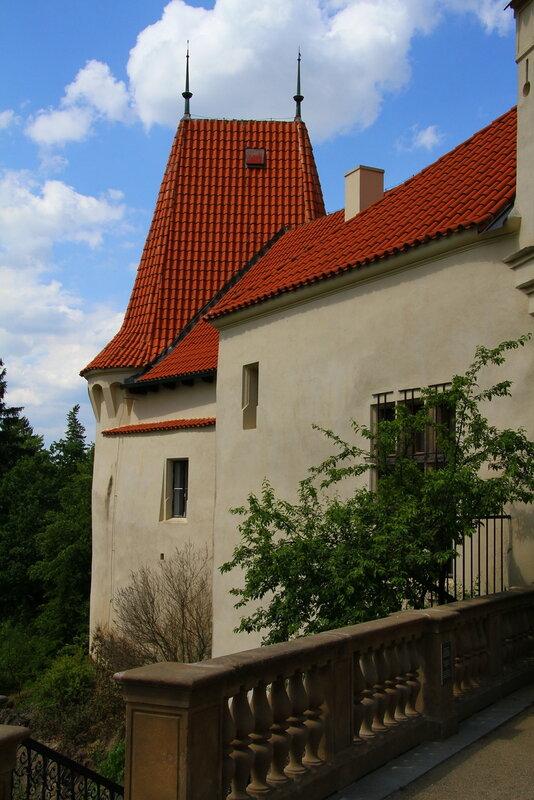 Парк и замок Пругоницы. Чехия