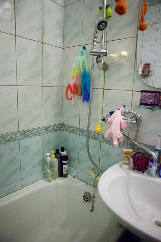 Русскоев ванной вроде реально