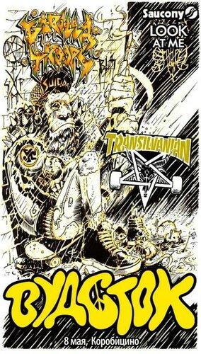 Музыка от Saucony на Вудстоке: Transilvanian /Gorilla Troops