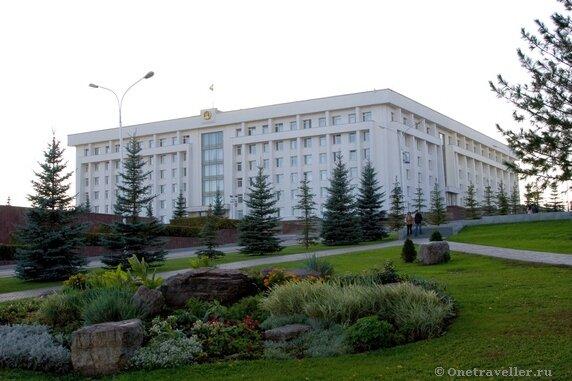 Уфа. Дом правительства Республики Башкортостан.