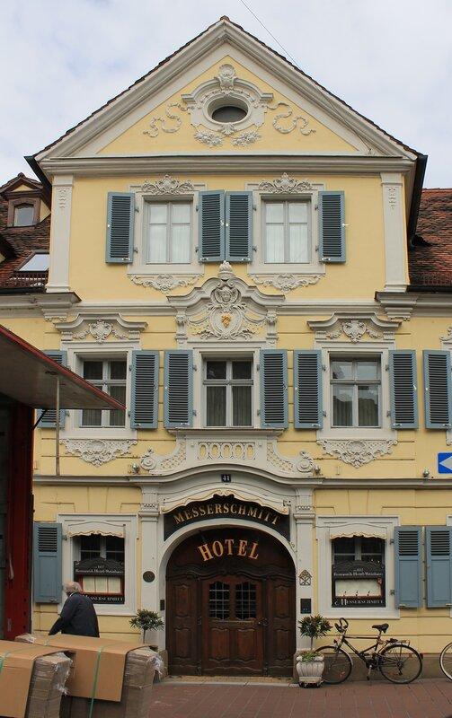 Бамберг. Винный дом Мессершитта (Messerschmitt Weinhaus)