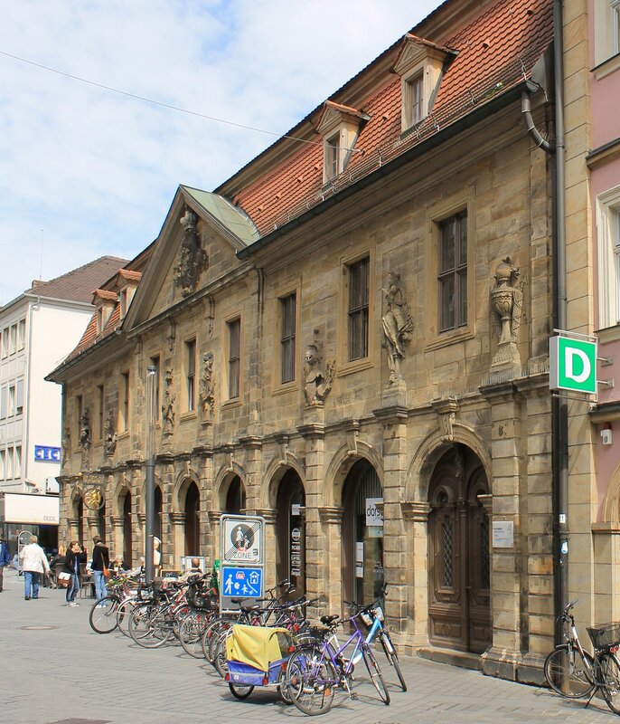 Bamberg. The city Guardhouse (Hauptwache)