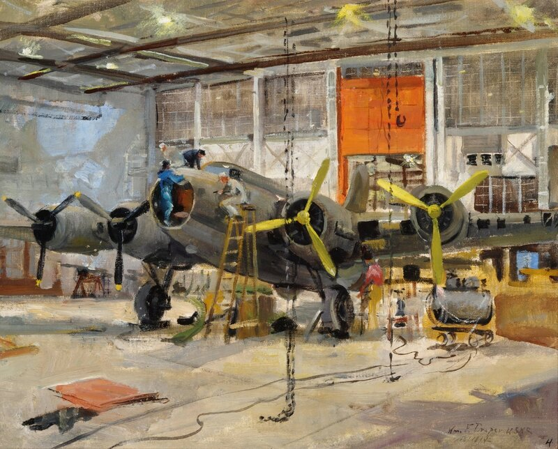 William F. Draper - Kodiak, Hanger (1942)