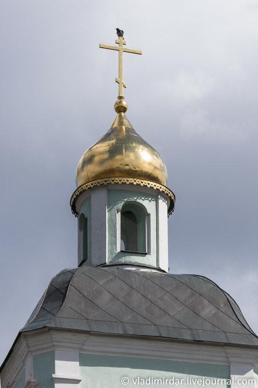 Царицыно. Колокольня храма Божией Матери «Живоносный Источник». 139 мм.