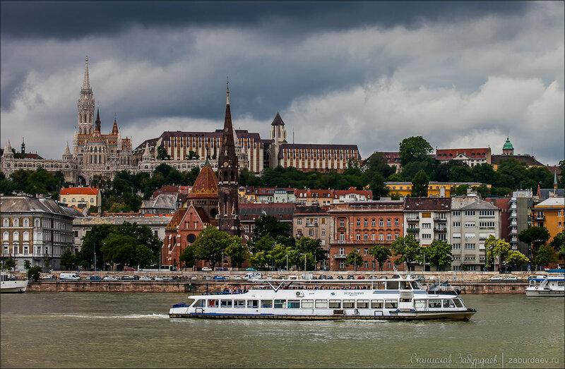 Будапешт, вид на Буду