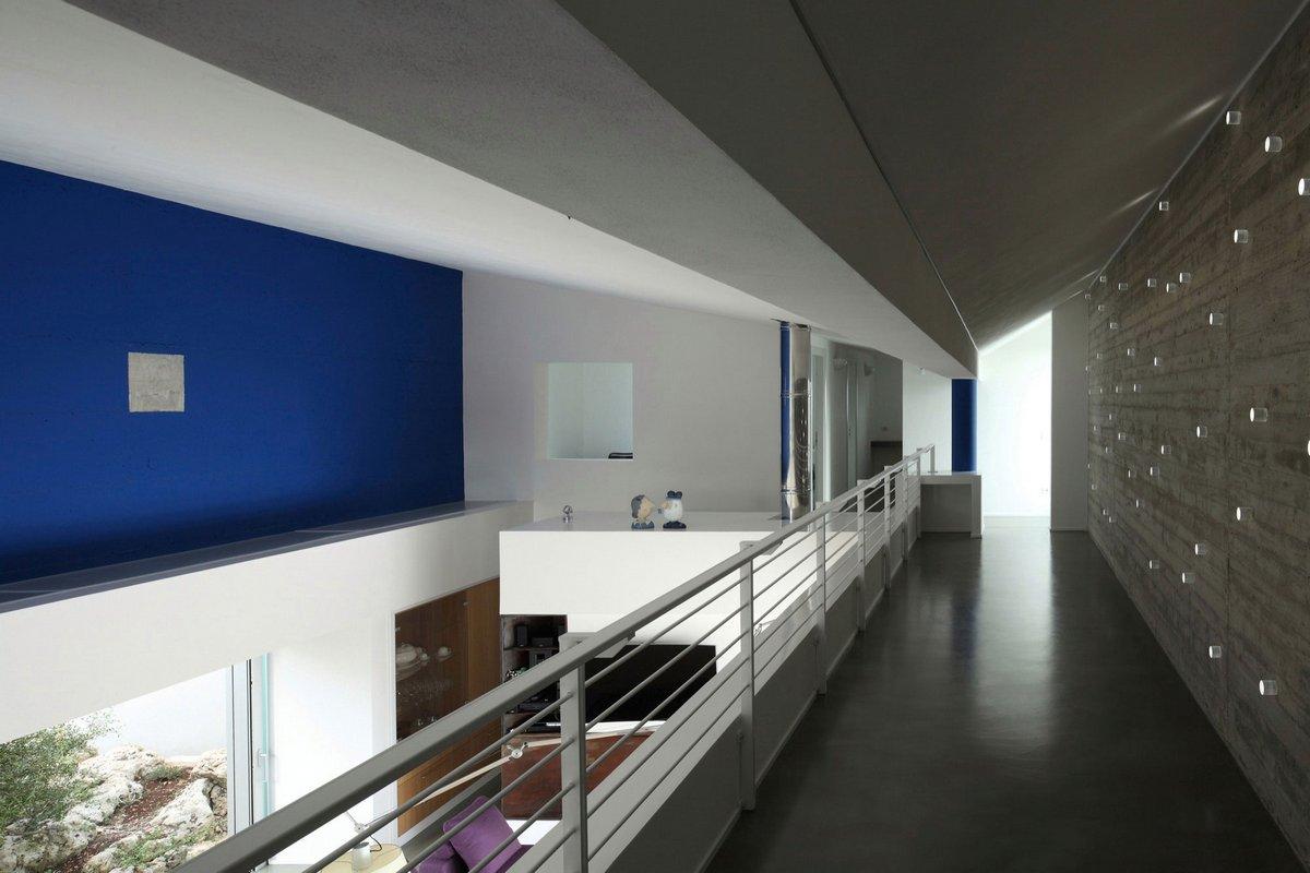 Fabrizio Foti architetto, House m_p, схема частного дома, планировка двухэтажного дома, стильный интерьер дома фото, особняки Италии