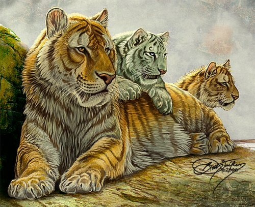Бумажные тигры.