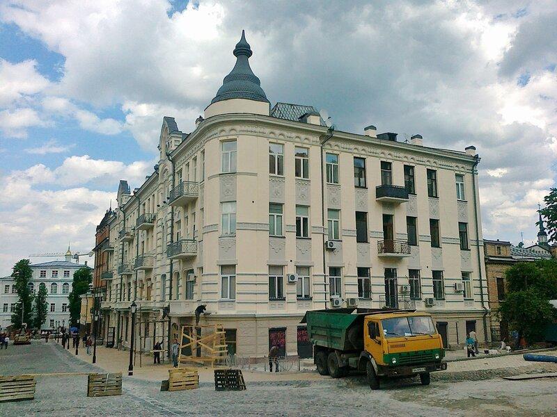 Реконструкция дома на Андреевском спуске