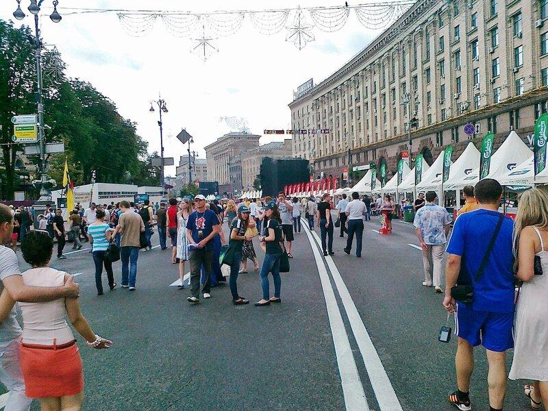 Фан-зона Евро 2012 в Киеве