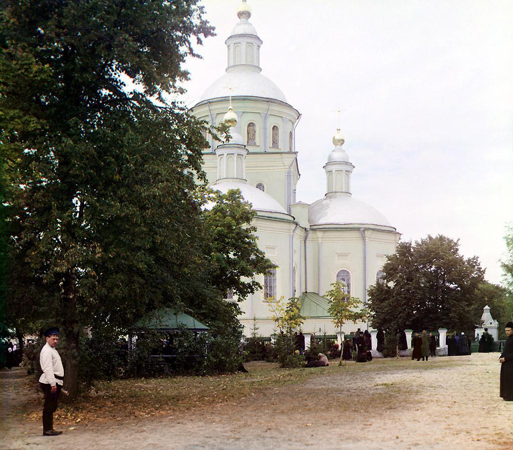 514.Троицкий собор Белгородского мужского Свято-Троицкого монастыря, 1911, сентябрь