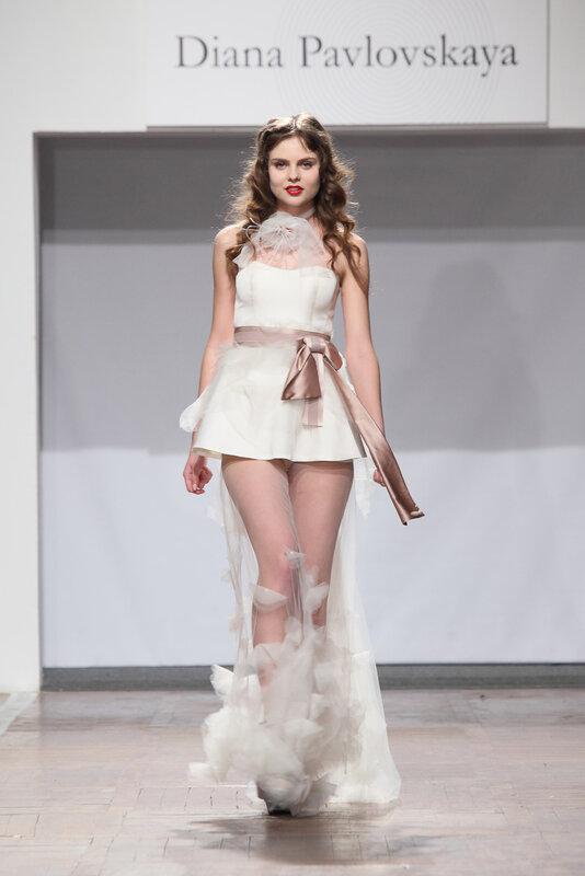 Дизайнерское необычное платье Diana Pavlovskaya