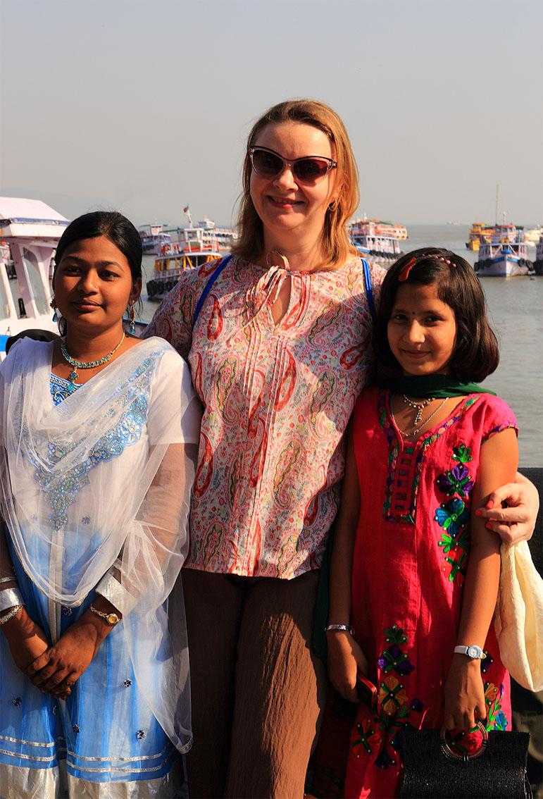Фотография 13. Поездки по Индии. Посещение Мумбаи. Фотосессия с местными жителями