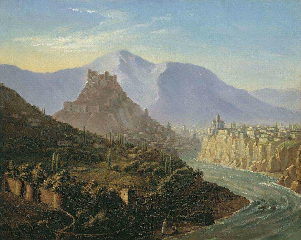 Михаил Юрьевич Лермонтов. Тифлис. 1837