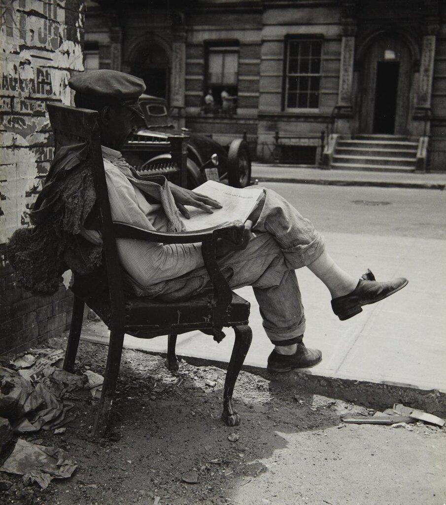 John Albok, New York, Harlem, 1935