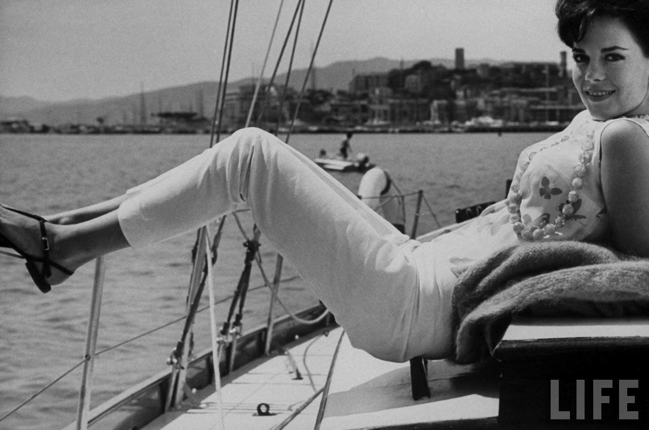 Natalie Wood at the Cannes Film Festival