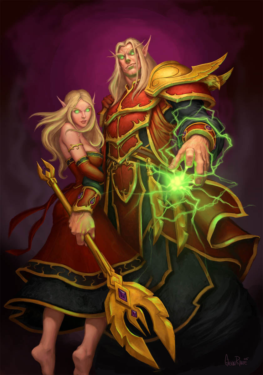 Wow blood elf or undead priest porn video
