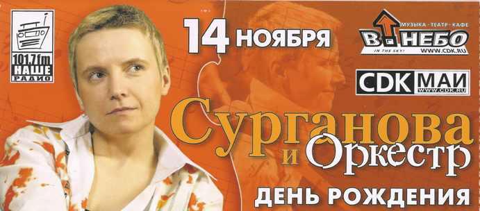 день рождения Светы Сургановой