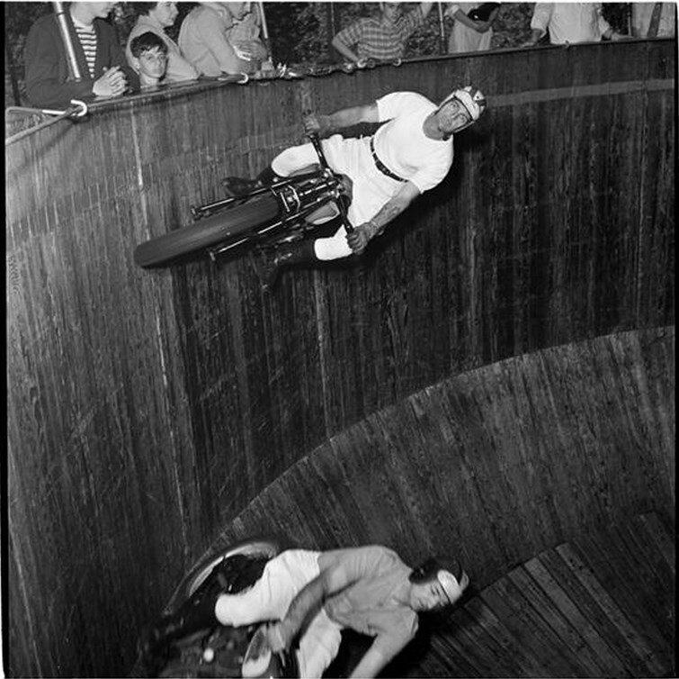 1946. Парк развлечений Палисейдс. Стена смерти