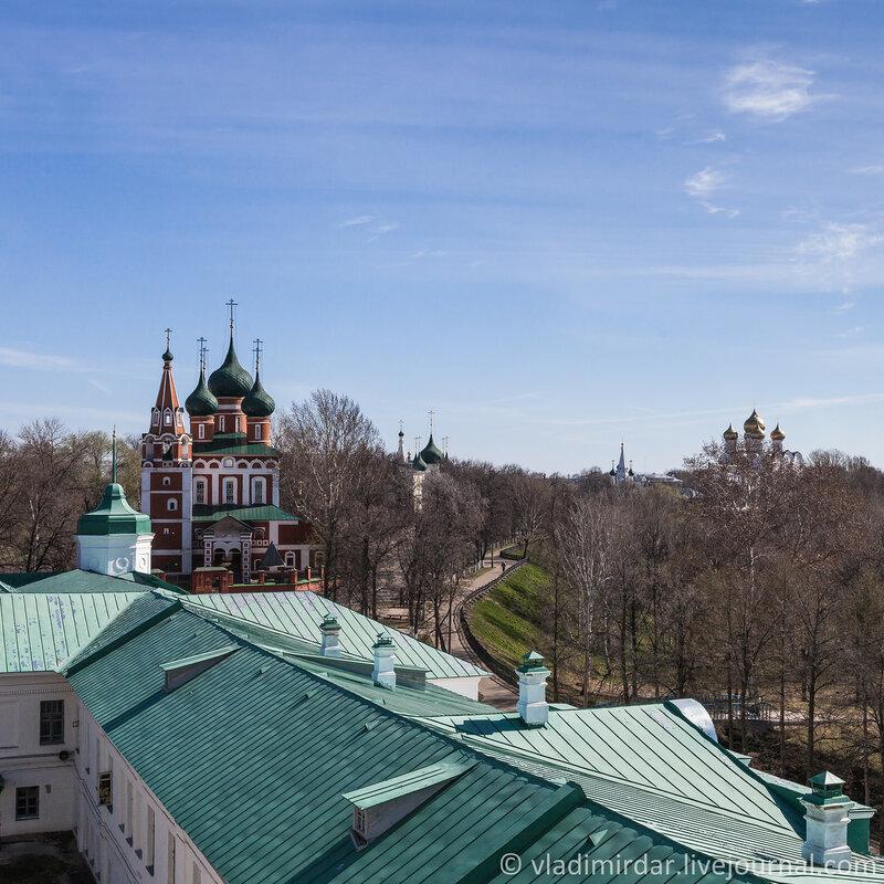 Ярославль. Золотое Кольцо. Церковь Михаила Архангела.