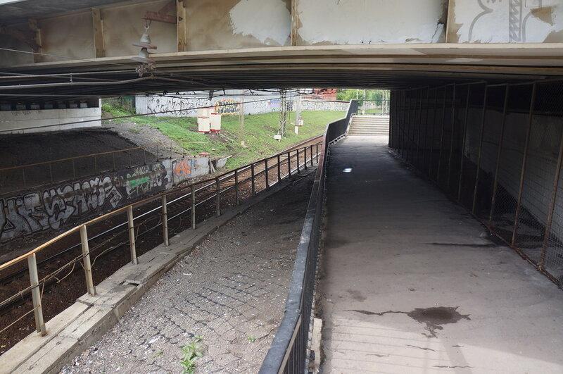 Алексеевская ветка, Курский-Каланчёвская, правая сторона