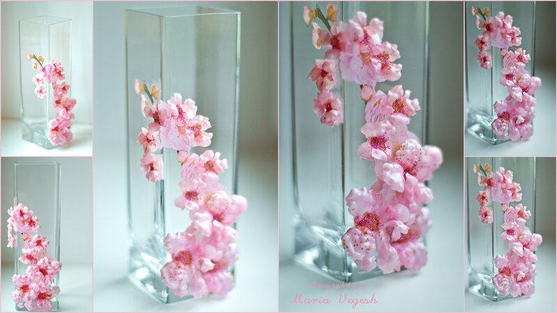 Поделки в тарелки цветы