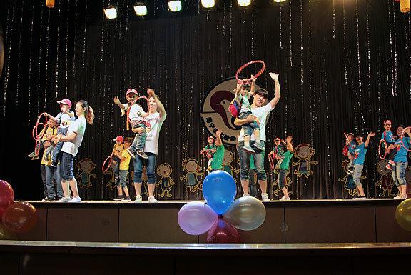 Детский концерт в г.Хайнин