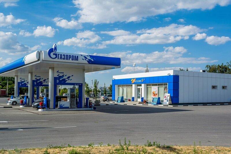 АЗС Газпром - Волгоград